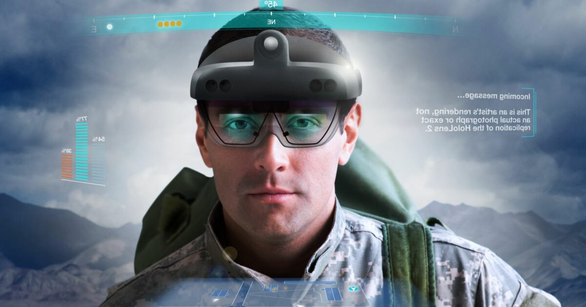 HoloLens 2与美国陆军IVAS作战头显解析